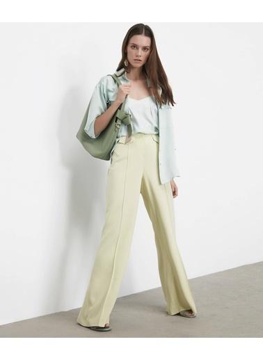 Ipekyol Kadın  Pantolon IS1200003086 Sarı